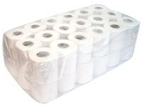 320 SHEET CONVENTIONAL TOILET ROLLS, 2ply x 36