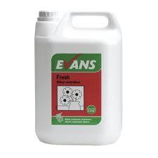 FRESH ODOUR NEUTRALISER, Evans Liquid Air Freshener x 5Lt