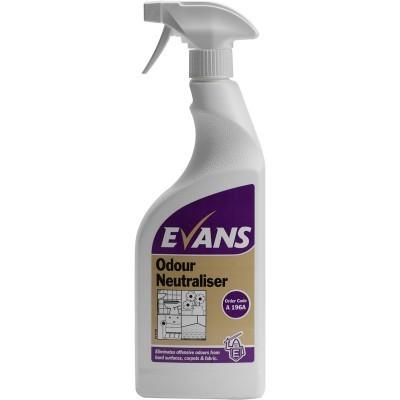 ODOUR NEUTRALISER, Evans Trigger Spray x 750ml