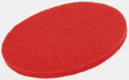 ECONOMY RED FLOOR PADS, buffing
