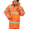HI-VISIBILITY CONSTRUCTOR JACKET - ORANGE