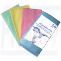 DISPOSABLE CLOTHS, colour coded x 50