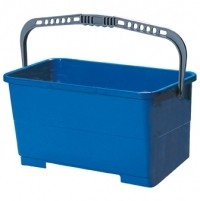 BLUE OBLONG WINDOW CLEANING BUCKET, Contico 24Lt