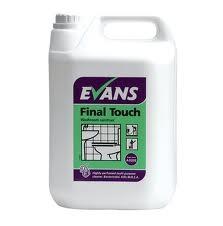 FINAL TOUCH, Evans Washroom Sanitiser x 5Lt