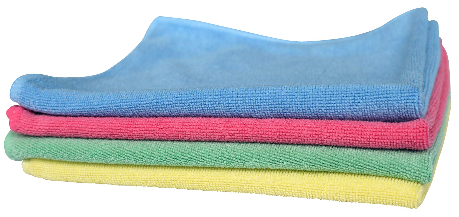 MICROFIBRE CLOTHS, colour coded x 10